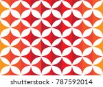 colorful curve abstract... | Shutterstock .eps vector #787592014