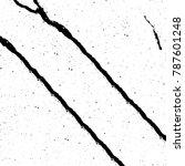 black white texture. grunge... | Shutterstock . vector #787601248