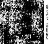 black white texture. grunge... | Shutterstock . vector #787606186