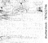 black white texture. grunge... | Shutterstock . vector #787622746