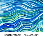 Creative Abstract Hand Painted...