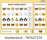 set of tasks for the... | Shutterstock .eps vector #787627174