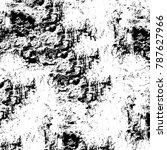 black white texture. grunge... | Shutterstock . vector #787627966