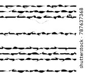 Wavy Lines Pattern  Curve...