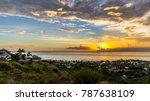view on saint gilles les bain ... | Shutterstock . vector #787638109
