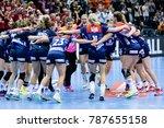 norway team victory celebration ... | Shutterstock . vector #787655158
