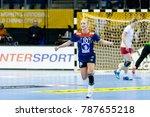 stine oftedal goal celebration... | Shutterstock . vector #787655218