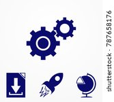 cogwheel and development icon....
