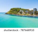 an aerial view of burleigh... | Shutterstock . vector #787668910