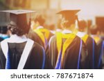 blurred image the student... | Shutterstock . vector #787671874