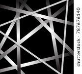 rectangle and line cross... | Shutterstock .eps vector #787676140