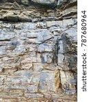 chaeseokgang cliff wall | Shutterstock . vector #787680964