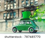 3d rendering. st. patricks day... | Shutterstock . vector #787685770