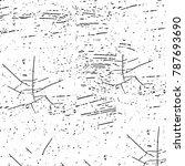 grunge black white. abstract... | Shutterstock . vector #787693690
