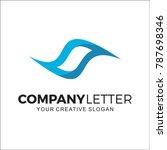 company logo  sea | Shutterstock .eps vector #787698346