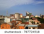 Small photo of conakry, Guinea - may 08, 2015: Downtown Cityscape konakry, guinea