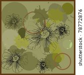 floral vector banners | Shutterstock .eps vector #78772876