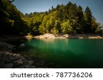 lake of suviana | Shutterstock . vector #787736206
