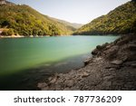 lake of suviana | Shutterstock . vector #787736209