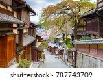 cityscape of kyoto  kansai ... | Shutterstock . vector #787743709