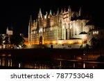 Night View Of Palma De Mallorc...