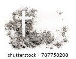 Christian cross or crucifix...