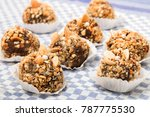 traditional portuguese sweet of ... | Shutterstock . vector #787775530