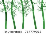 bamboo background. abstraction...   Shutterstock .eps vector #787779013