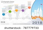 business infographics template  ... | Shutterstock .eps vector #787779733