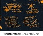handmade t shirt graphic   Shutterstock .eps vector #787788070