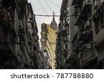 2 january 2018  macau   view of ... | Shutterstock . vector #787788880