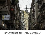 2 january 2018  macau   view of ... | Shutterstock . vector #787789510