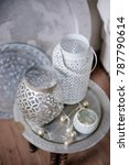 coffee table in arabic style....   Shutterstock . vector #787790614