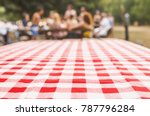 blurred party on background ... | Shutterstock . vector #787796284