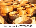 made baskets shop.there are... | Shutterstock . vector #787800940