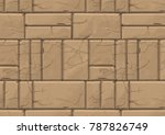 Stone Wall Painted Texture...