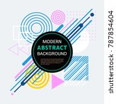 Modern Abstract Geometric...