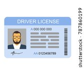 the idea of personal driving... | Shutterstock .eps vector #787860199
