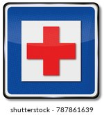 hospital  medical help and... | Shutterstock . vector #787861639