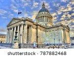 the pantheon  a secular... | Shutterstock . vector #787882468