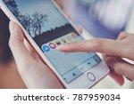bangkok  thailand   january 7 ... | Shutterstock . vector #787959034