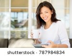 middle age asian woman.   Shutterstock . vector #787984834