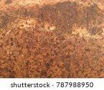 rust in steel | Shutterstock . vector #787988950