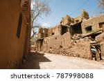 abyaneh village a relic of... | Shutterstock . vector #787998088