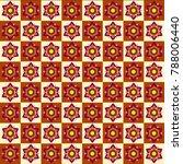 thai style pattern background... | Shutterstock .eps vector #788006440