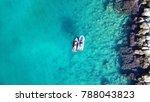 aerial drone bird's eye view... | Shutterstock . vector #788043823