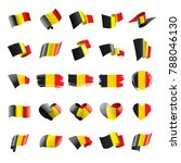 flag of belgium  vector... | Shutterstock .eps vector #788046130