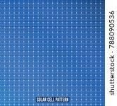 solar panel pattern vector | Shutterstock .eps vector #788090536