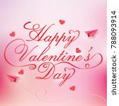 valentines day design  | Shutterstock .eps vector #788093914