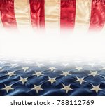 abstract perspective background ... | Shutterstock . vector #788112769